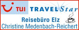 Reisebüro Medenbach mit Tasse