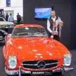 Mercedes-Benz 300 SL Roadster  ist schönstes Auto in Essen