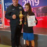 Chayenne Bluhm ist Deutsche Meisterin im Boxen