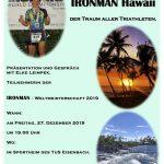 """Einladung zur Veranstaltung: """" Der Traum aller Triathleten """""""