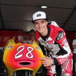 Motorradrennfahrer Dirk Geiger aus Mannheim darf 2020 bei den ersten vier WM-Rennen starten
