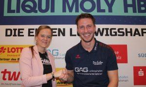 Cheftrainer Benjamin Matschke verlängert seinen Vertrag bei den Eulen Ludwigshafen