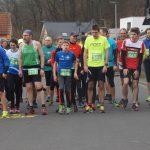 Zweiter Lauf der Dornburger Winterlaufserie war verregnet