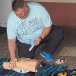 Defibrillator als Grundausstattung beim SV Wilsenroth