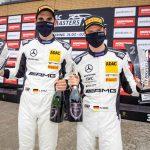 Platz zwei für Mercedes-AMG im Sonntagsrennen des ADAC GT Masters auf dem Lausitzring