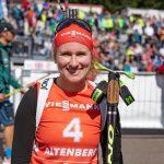 Wechsel im Damenfeld beim City Biathlon Wiesbaden