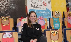 Das Kinderhaus am Ebertpark unterstützt die Eulen Ludwigshafen