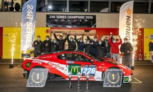 Neue Gesamt- und Klassen-Titelträger gekürt beim Saisonfinale der 24H SERIES 2020