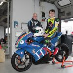 Motorradrennfahrer Julius Coenen aus Brackenheim startet 2021 beim Austrian Junior Cup