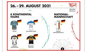 Vier Kontinentalteams und eine Nationalmannschaft bringen deutschen Radsport-Nachwuchs zur Deutschland Tour