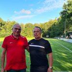 Anlässlich des 75 jährigen Jubiläums war der Hessenligist SV Zeilsheim zu Gast in Heringen