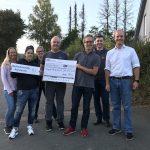Heimische Everester spenden 10.000 Euro für Hochwasseropfer