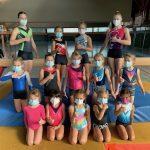 Hessische Meisterschaften der Kunstturnerinnen am Samstag, 25.09.2021  in der Kreissporthalle in Limburg mit Zuschauern